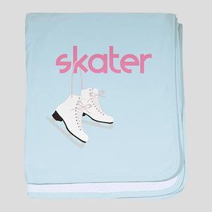 Skaters Skates baby blanket