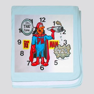 time for potman baby blanket