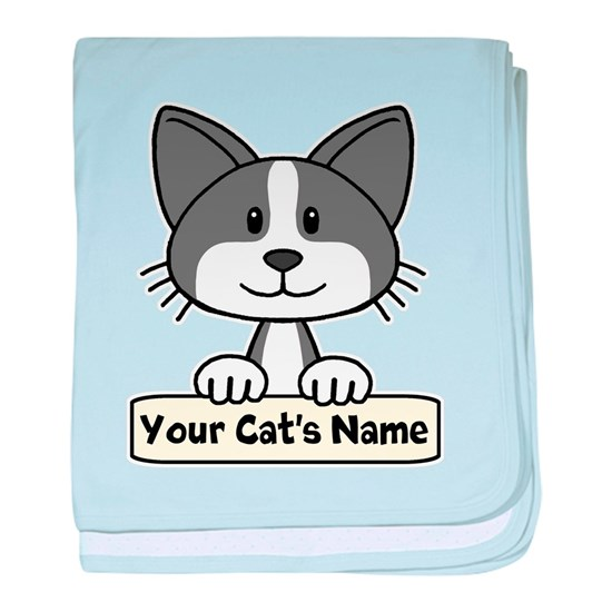 Personalized Black/White Cat