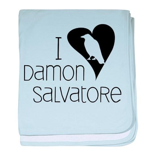 I Heart Damon Salvatore baby blanket by K A Designs ...