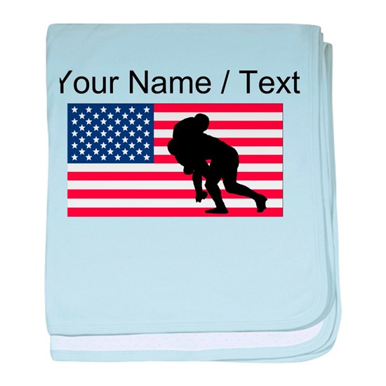 Custom Rugby Tackle American Flag