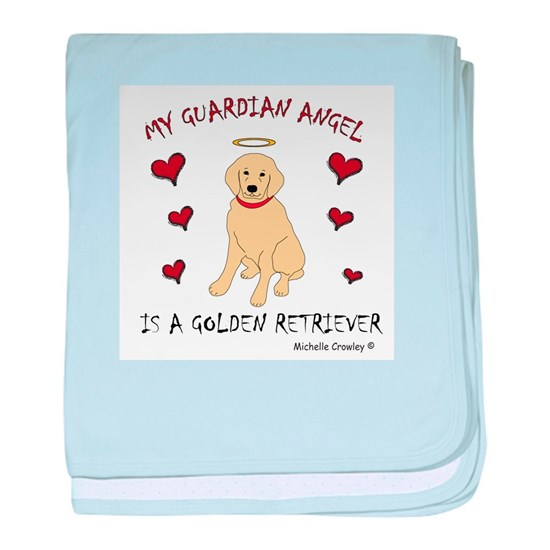 Golden Retriever Baby Blanket By Scout Cafepress