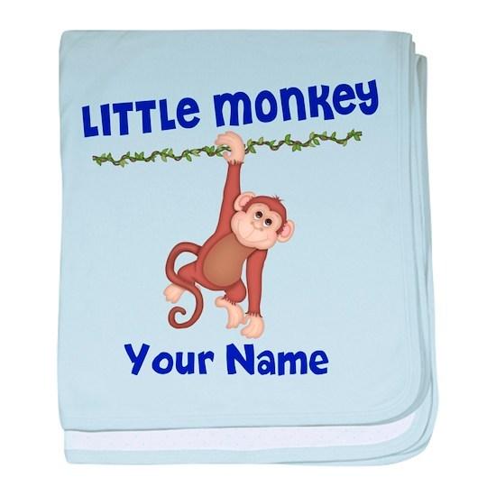Monkey Boy Kids Personalized