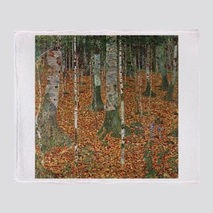 Birch Trees Blankets Cafepress