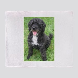 Portuguese Waterdog Throw Blanket