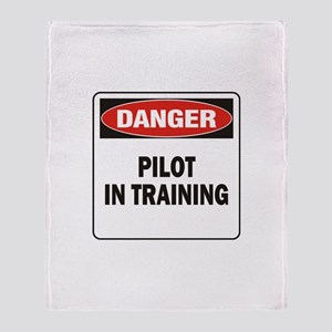 Pilot Throw Blanket