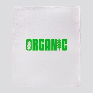 100 Percent Organic Throw Blanket