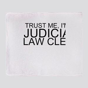 Trust Me, I'm A Judicial Law Clerk Throw Blank