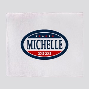 Michelle Obama 2020 Throw Blanket