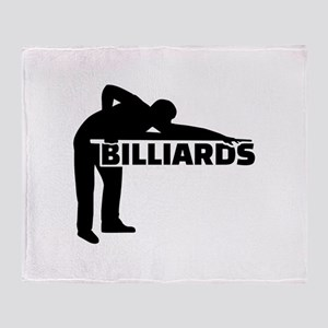Billiards Throw Blanket