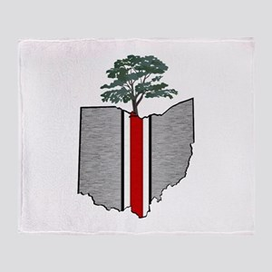 OHIO GROWN Throw Blanket