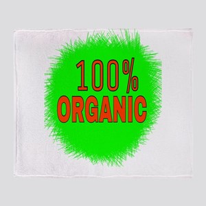 100% ORGANIC Throw Blanket