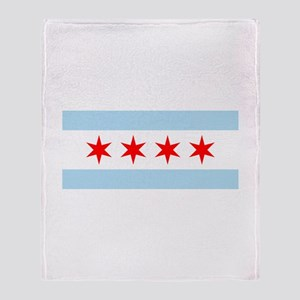 Chicago Throw Blanket