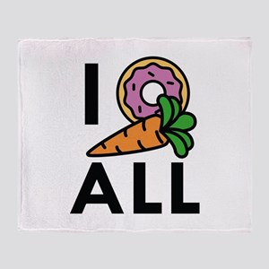I Donut Carrot All Stadium Blanket