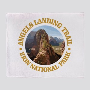 Angels Landing Throw Blanket
