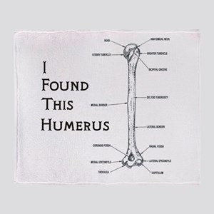 I Find This Humerus Throw Blanket