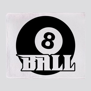8 Ball Throw Blanket