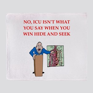 Medical School Throw Blanket