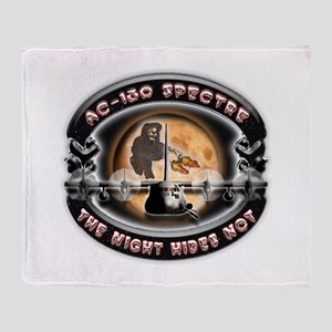 USAF AC-130 Spectre The Night Throw Blanket