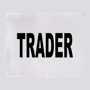 Trader Throw Blanket