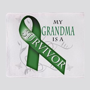 My Grandma is a Survivor (green) Stadium Blan