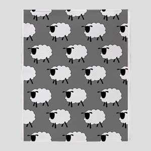 'Sheep' Throw Blanket