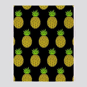 'Pineapples' Throw Blanket
