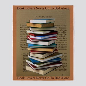 Book Lovers Blanket 2 Throw Blanket