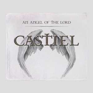 Supernatural CASTIEL Angel Wings Throw Blanket