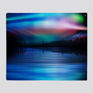 Northern Lights Throw Blanket