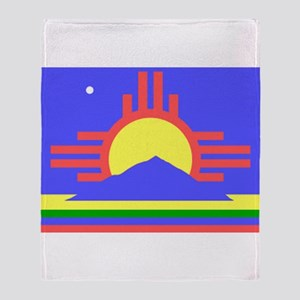 Roswell Throw Blanket