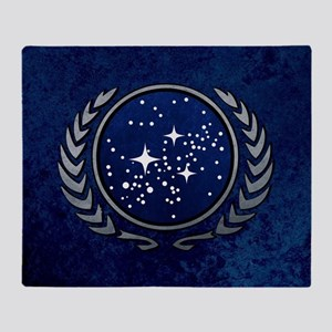 STARTREK UFP STONE Throw Blanket