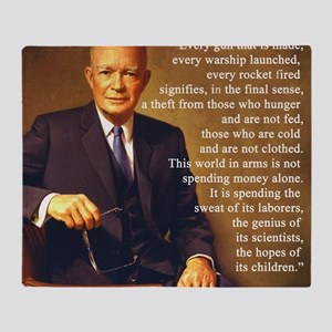 Eisenhower Every Gun 1 Throw Blanket