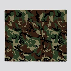 camo Throw Blanket