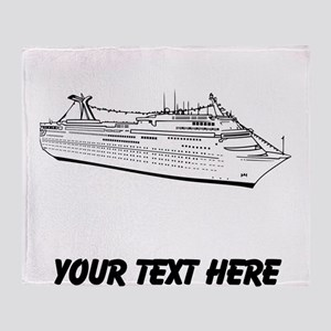 Cruise Ship Throw Blanket