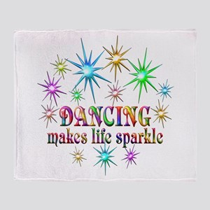 Dancing Sparkles Throw Blanket