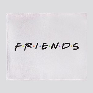 Friends are funny Throw Blanket