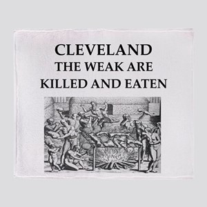 cleveland Throw Blanket