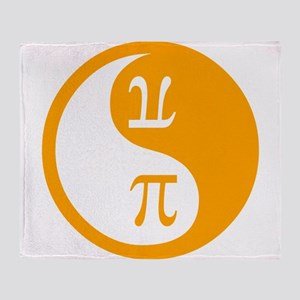 Pi Ying Yang Throw Blanket