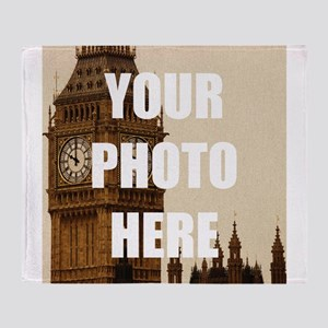 Your Photo Here Personalize It! Throw Blanket