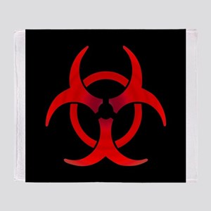 Biohazard Throw Blanket