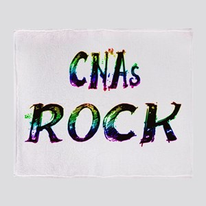 CNAs ROCK Throw Blanket