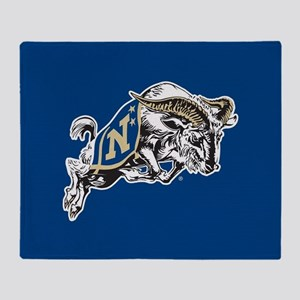 U.S. Naval Academy Bill the Goat Throw Blanket