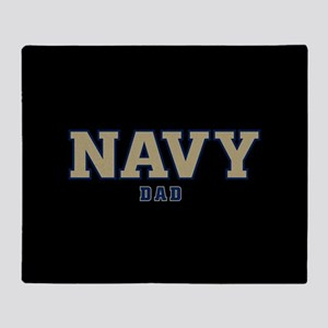 US Navy Dad Throw Blanket