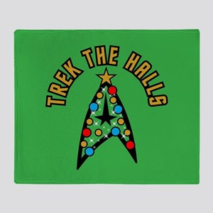 Star Trek the Halls Throw Blanket