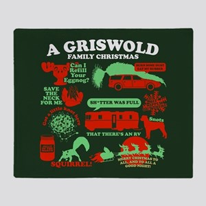 Griswold Family Christmas Throw Blanket