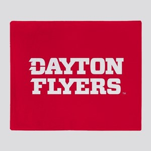 Dayton Flyers Throw Blanket