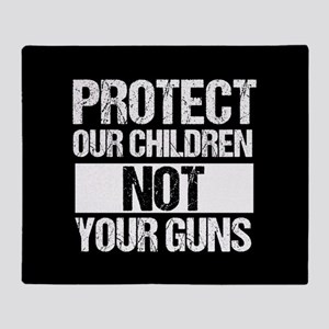 Protect Kids Not Guns Throw Blanket
