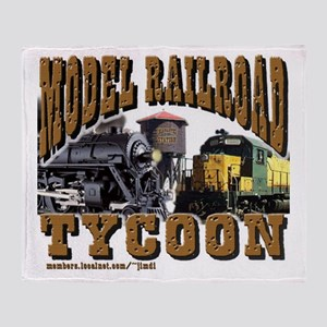 Model Railroad Tycoon - Throw Blanket