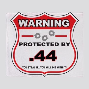 protected by 44 shield Throw Blanket